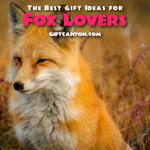The Best fox Gifts for fox lovers
