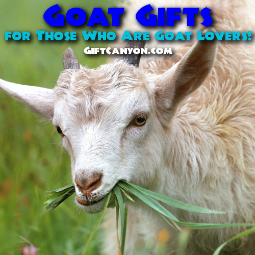 Goat Gifts for Goat Lovers