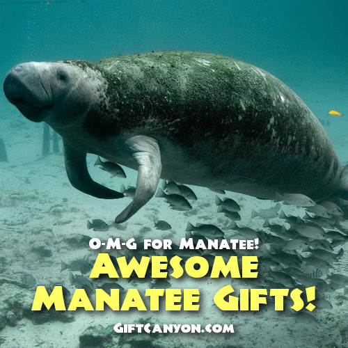 Super Awesome Manatee Gifts