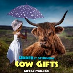 "Udder-ly Stunning Cow Gifts That Will Make You Go ""Moo""!"
