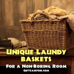Unique Laundry Baskets For A Non-Boring Room