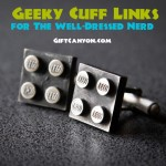 Geeky Cufflinks for the Well-Dressed Nerd