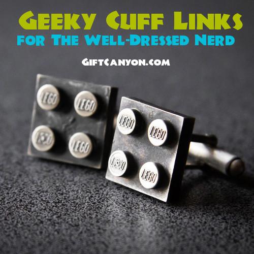 geeky cufflinks