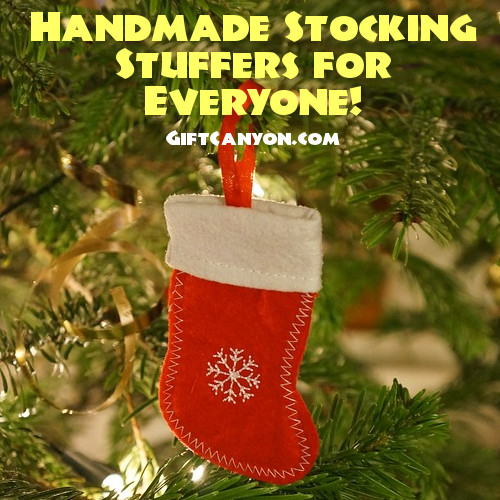 handmade stocking stuffers
