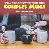 Cute Couple Coffee Mugs That Spell ROMANCE