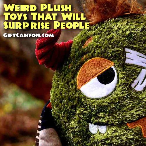 weird plush toys that will surprise people 2