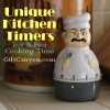 Unique Kitchen Timers For A Fun Cooking Time