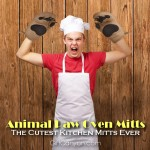 Animal Paw Oven Mitts: The Cutest Oven Mitts You Will See