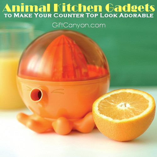Animal Kitchen Gadgets to Make Your Counter Top Look Adorable