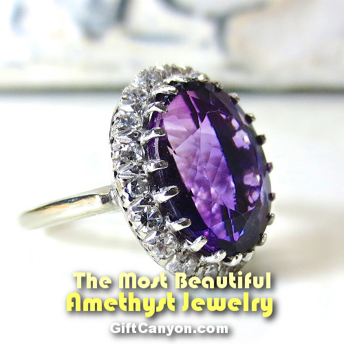February Birthstone Amethyst Jewelry