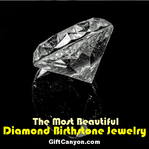 diamond birthstone jewelry