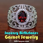 January Birthstone: The Most Beautiful Garnet Jewelry