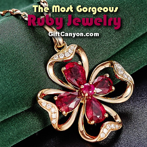 july birthstone ruby jewelry