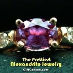 June Birthstone: Beautiful Alexandrite Jewelry You Can Give