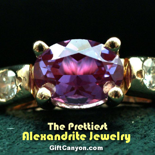 june birthstone alexandrite jewelry