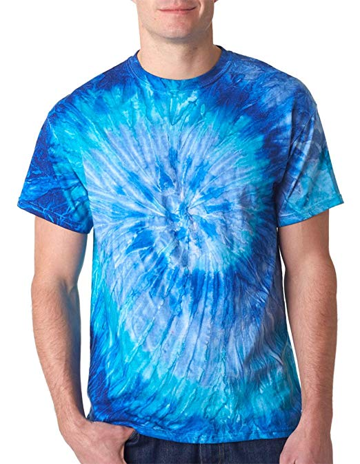 This psychedelic shirt brings you back to the 70's, eh?
