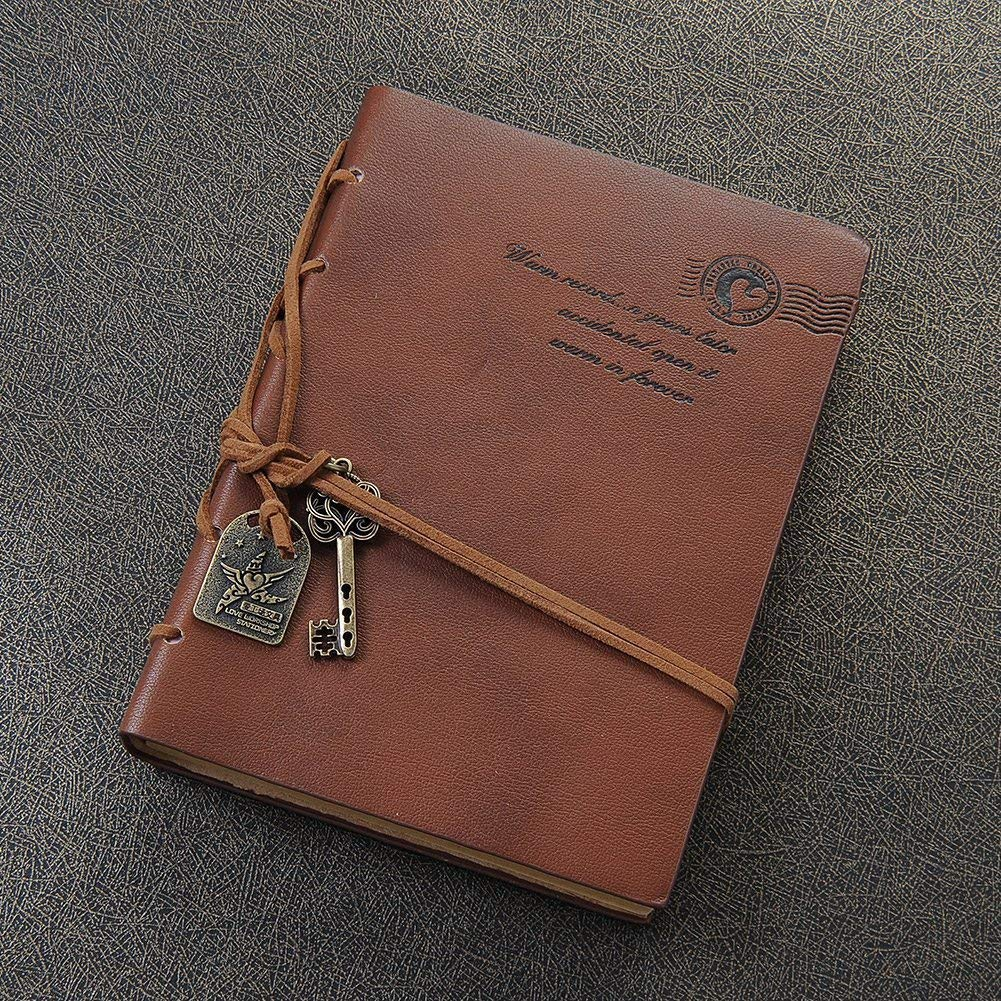 I love the key and the vintage look of this journal!